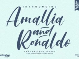 Amallia and Ronaldo Font