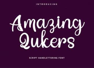 Amazing Qukers Font