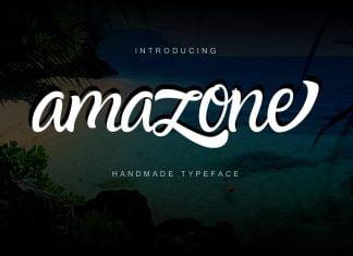 Amazone Script Font
