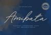 Amibata Font