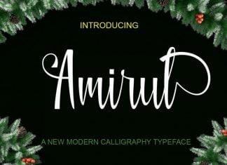 Amirul Font