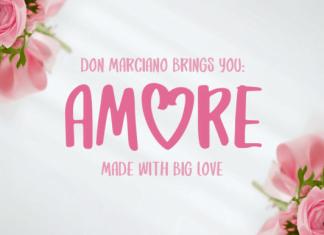 Amore Font