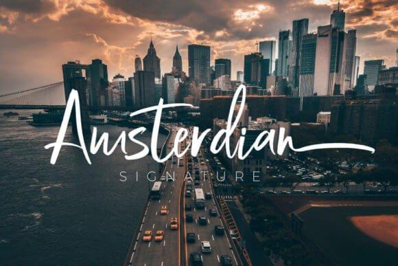 Amsterdian Font