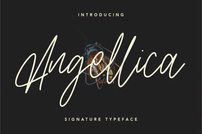 Angellica Signature Script Font