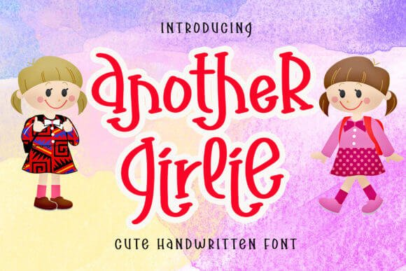 Another Girlie Font