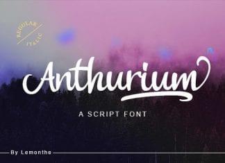Anthurium Font