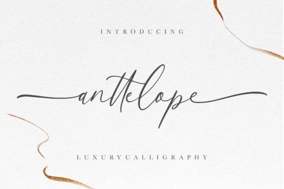 Anttelope Font