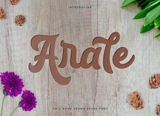 Arale - Bold Beauty Script Font