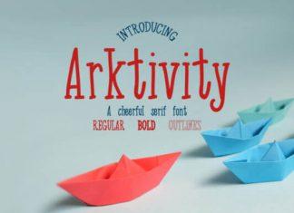 Arkitivity Font