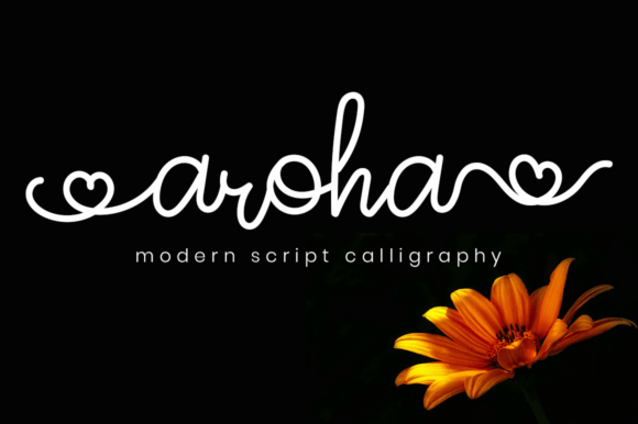 Aroha Script Font