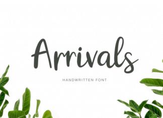 Arrivals Font