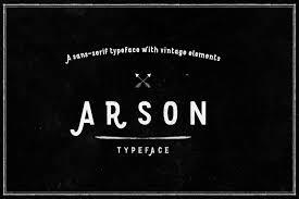 Arson Font