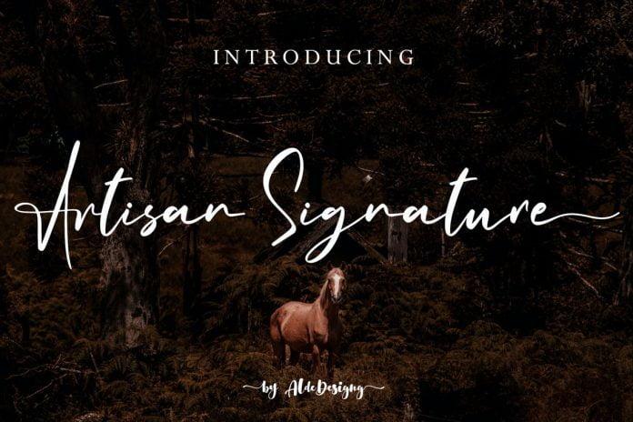 Artisan Signature Business Signature Style