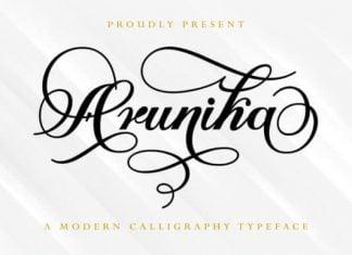 Arunika Font