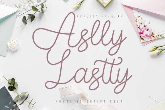 Aslly Lastty Font