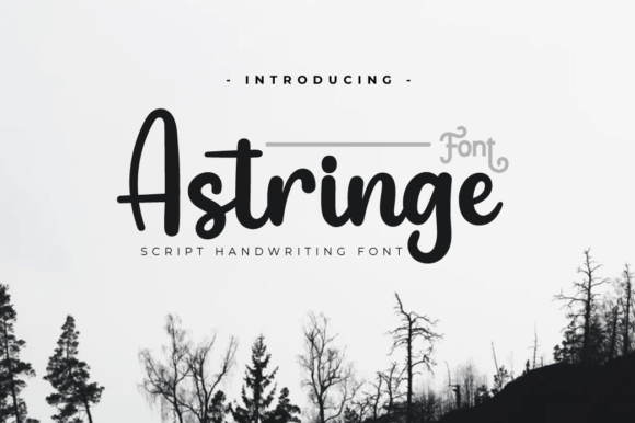 Astringe Font