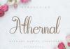 Athernal Font