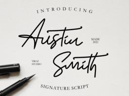 Austin Smith Font