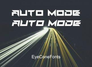 Auto Mode Font
