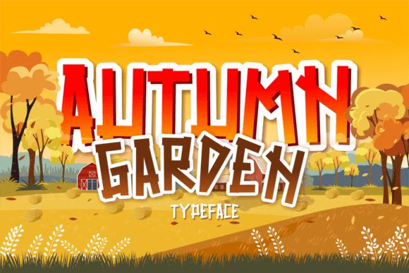 Autumn Garden Font