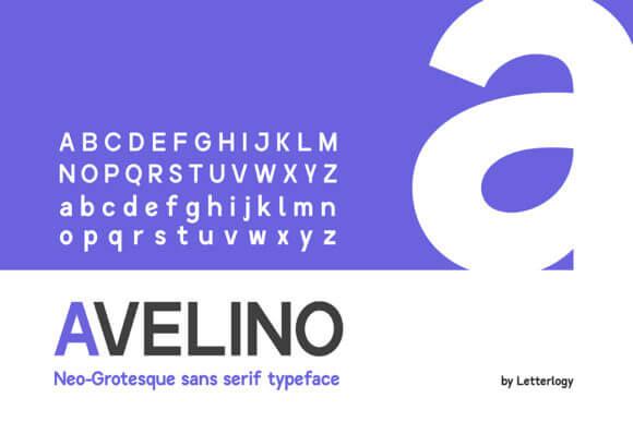 Avelino MTL Font