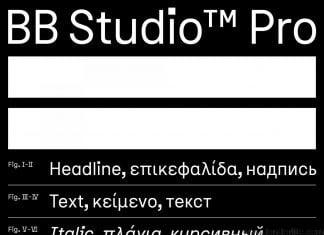 BB Studio Pro Font