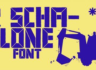BD Schablone Font