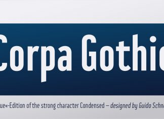 BF Corpa Gothic Pro Font