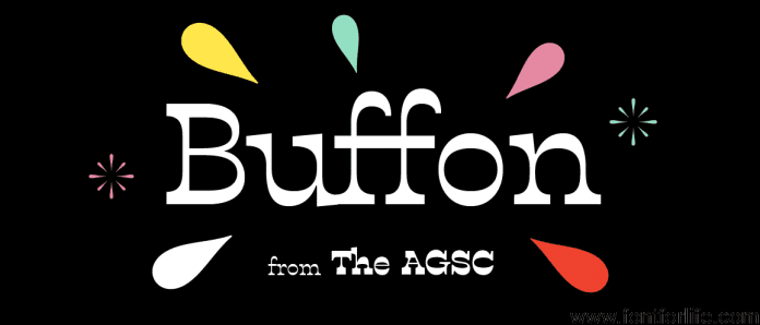 BUFFON Font