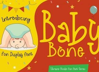 Baby Bone - Creative Fun Children Display Font