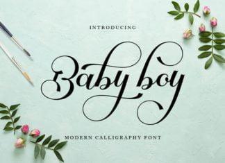 Baby Boy Font