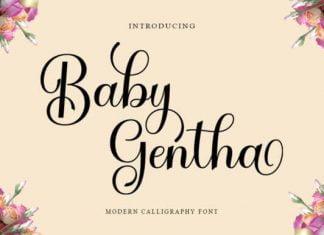 Baby Gentha Font