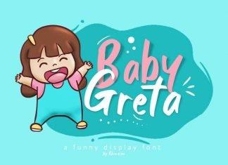 Baby Greta Font