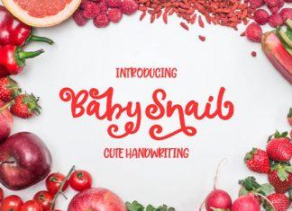 Baby Snail Font