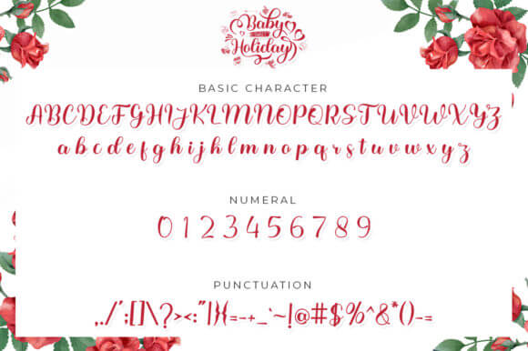 Baby Sweet Holliday Font