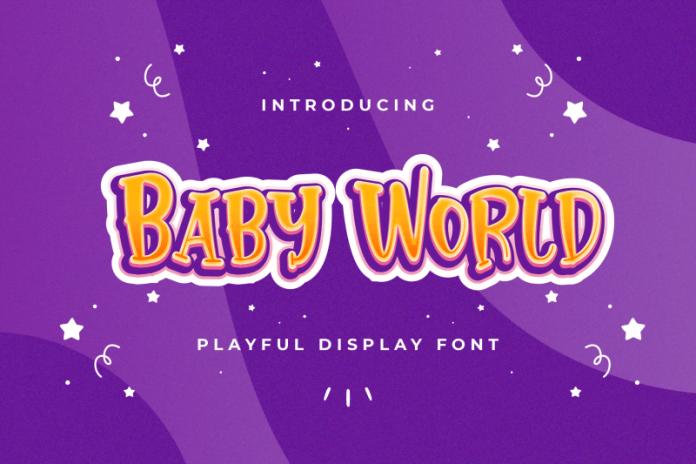 Baby World - Playful Display Font