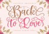 Back to Love Font