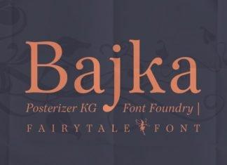Bajka Font