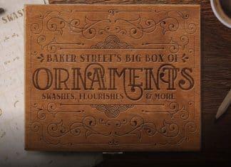 Baker Street Bundle - 6 Styles Font