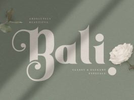 Bali Font
