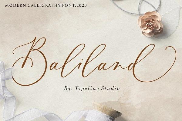 Baliland Font