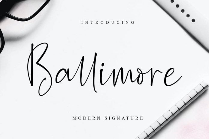 Ballimore – Modern Signature