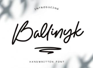 Ballinyk Font