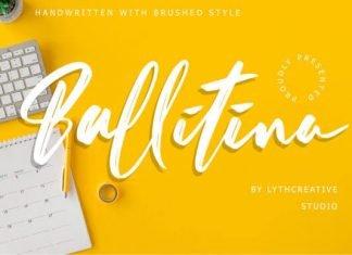 Ballitina Font