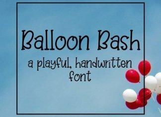 Balloon Bash Font