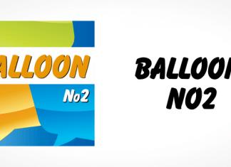 Balloon No2 Font