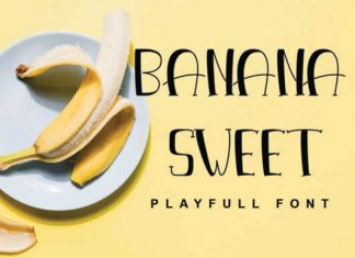 Banana Sweet Font
