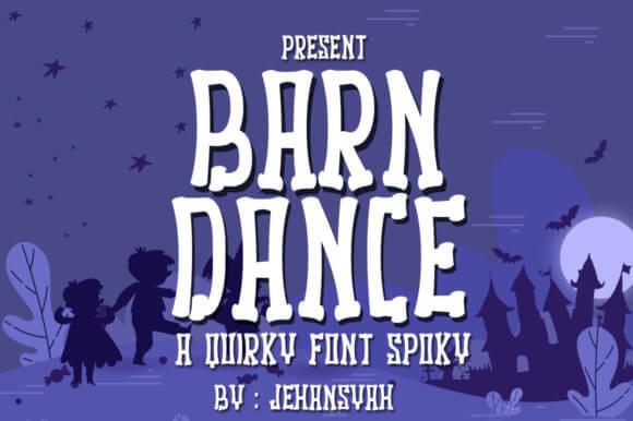 Barn Dance Font
