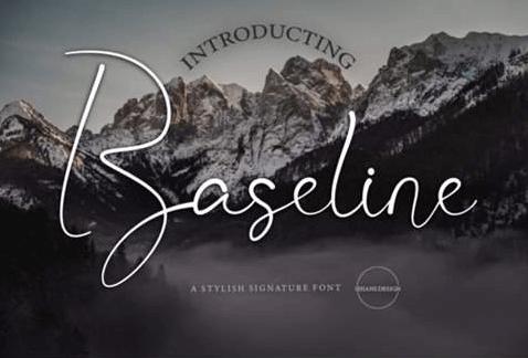 Baseline Font