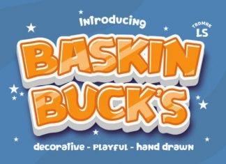 Baskinbucks Font